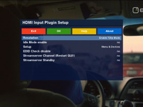 Is it possible to record the hdmi in input signal? - English